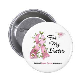 Hermana de la ayuda del cáncer de pecho pins