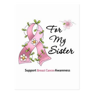 Hermana de la ayuda del cáncer de pecho postal