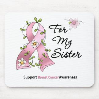 Hermana de la ayuda del cáncer de pecho alfombrilla de raton