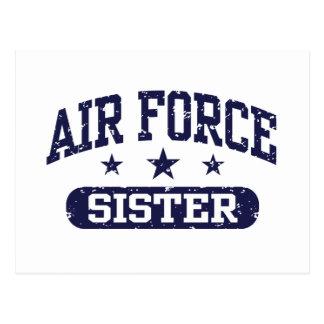 Hermana de la fuerza aérea postal