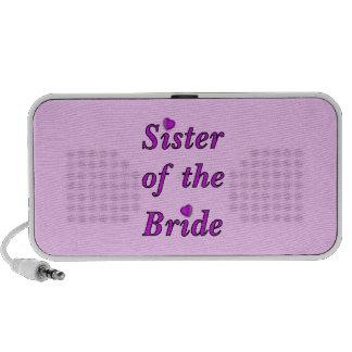 Hermana de la novia del amor simplemente notebook altavoz
