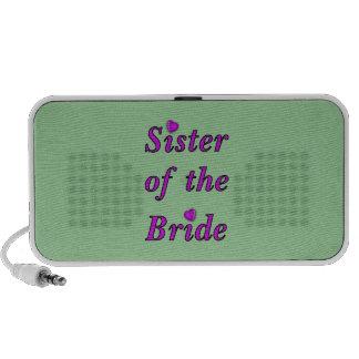 Hermana de la novia del amor simplemente altavoz de viajar