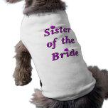 Hermana de la novia del amor simplemente ropa de perros