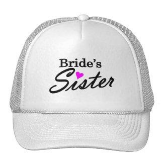 Hermana de las novias gorro de camionero