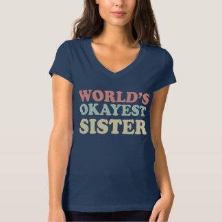 Hermana de Okayest del mundo Poleras