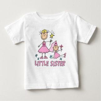 Hermana de princesa Duo del palillo pequeña Playeras