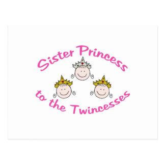 Hermana de Twincess Postal
