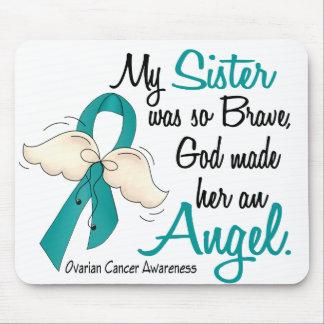 Hermana del cáncer ovárico del ángel 2 alfombrilla de ratones