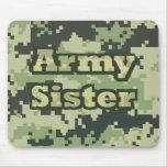 Hermana del ejército tapete de ratones