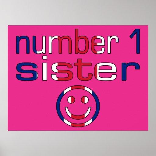 Hermana del número 1 (el cumpleaños de la hermana) impresiones