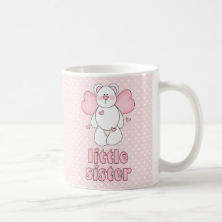 Hermana del oso del ángel pequeña tazas de café