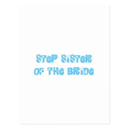 Hermana del paso de la novia postales