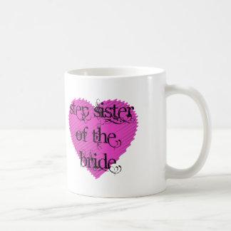 Hermana del paso de la novia taza de café