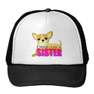 Hermana del perro de la chihuahua gorra