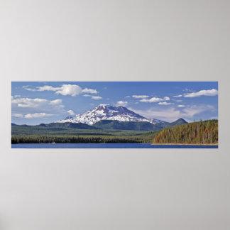 Hermana del sur, lago elk, Oregon Impresiones