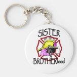 Hermana en fraternidad llaveros