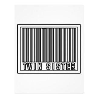 Hermana gemela del código de barras tarjetones