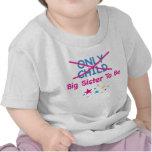 Hermana grande a ser camiseta