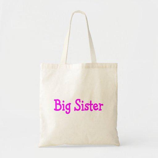 Hermana grande bolsa tela barata