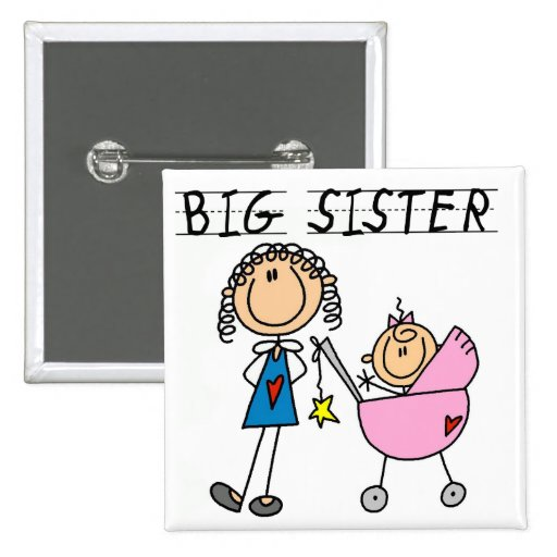 Hermana grande con pocas camisetas del SIS Pin