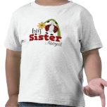 Hermana grande de la flor de la margarita de la ma camisetas