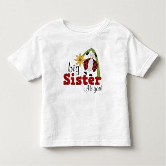 Hermana grande de la flor de la margarita de la t-shirt