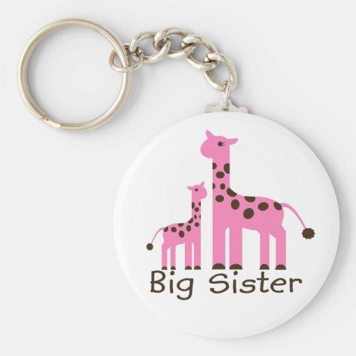 Hermana grande de la jirafa llavero