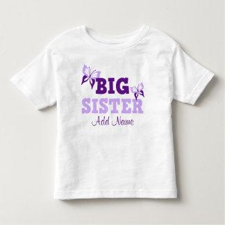 Hermana grande de la mariposa púrpura camisas