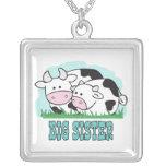 Hermana grande de las vacas lindas collar personalizado