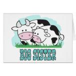 Hermana grande de las vacas lindas tarjetón