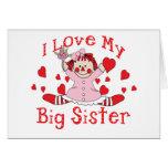 Hermana grande del amor felicitaciones