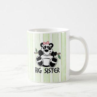 Hermana grande del chica de la panda tazas de café