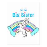 hermana grande del unicornio postal