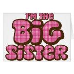 Hermana grande felicitación