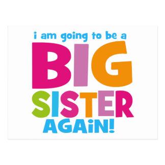 Hermana grande otra vez tarjetas postales
