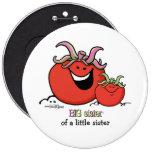 Hermana grande - pequeño hermano - tomate pins