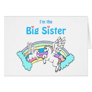 Hermana grande tarjeta