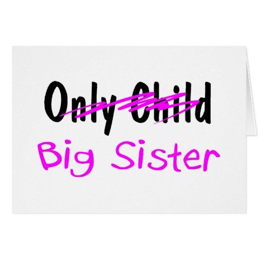 Hermana grande tarjetas