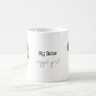 Hermana grande - taza del hermano del veggie