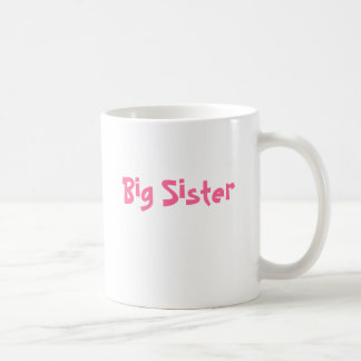 Hermana grande tazas de café