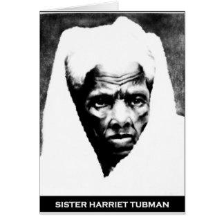 Hermana Harriet Tubman Felicitacion