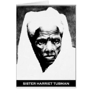 Hermana Harriet Tubman Tarjetón
