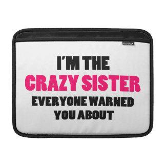 Hermana loca le advirtieron alrededor funda  MacBook