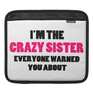 Hermana loca le advirtieron alrededor funda para iPads