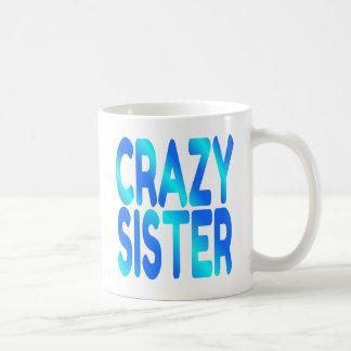 Hermana loca tazas de café