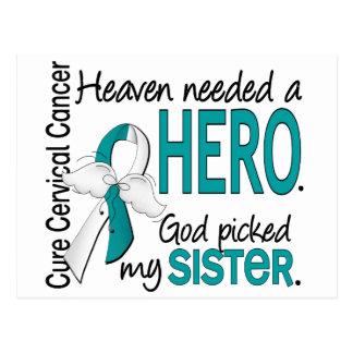 Hermana necesaria del cáncer de cuello del útero d tarjetas postales