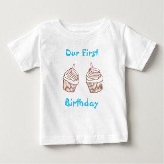 Hermana nuestra primera camiseta del niño de la playeras