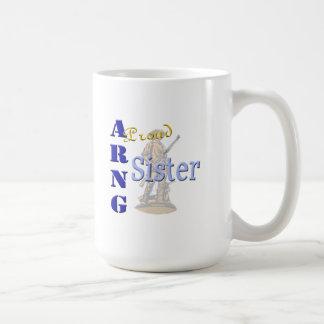 Hermana orgullosa de ARNG Taza De Café