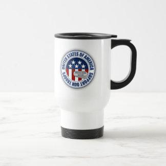 Hermana orgullosa del Guardia Nacional del ejércit Tazas De Café