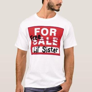 Hermana para la camiseta divertida de la venta